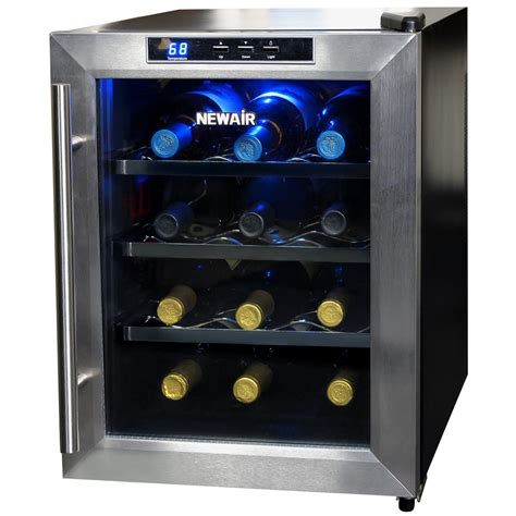 Best Countertop Wine Cooler by Newair Aw 121e 12 Bottle Countertop Thermoelectric
