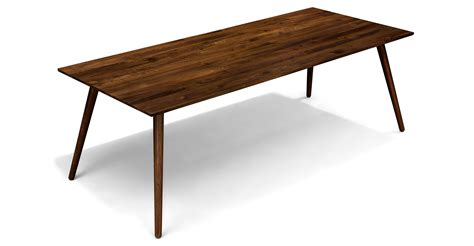 dining tables seno walnut dining table for 8 dining tables article