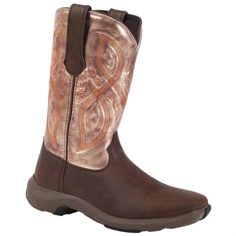 womans western boots s durango 174 10 quot rebelicious western boot chocolate