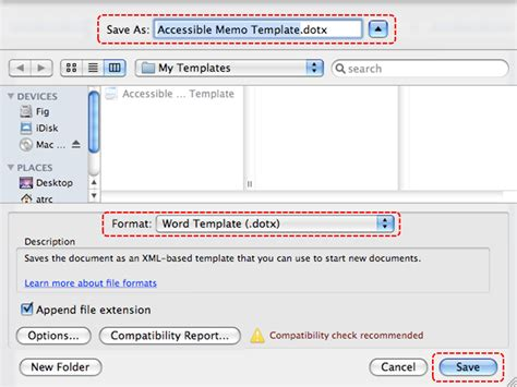 osx generate pdf with bookmarks from microsoft word on