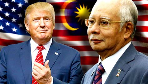 donald trump malaysia najib too early to conclude on effects of trump s