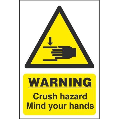 Mind Your warning crush hazard mind your signs hazard farm