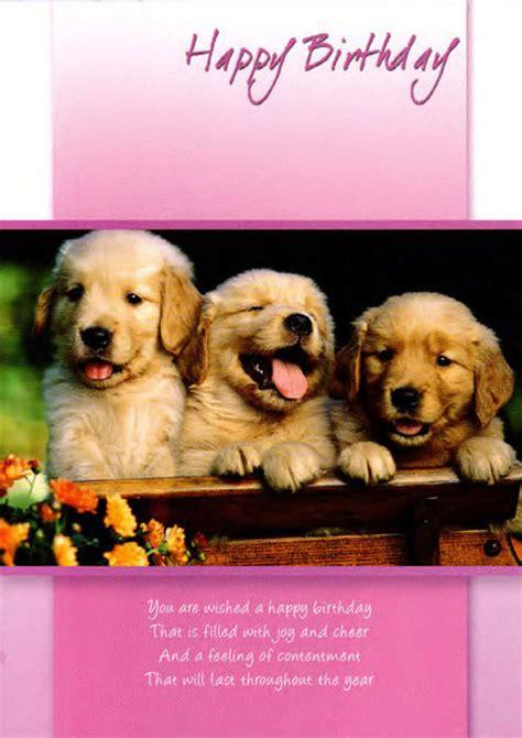 Puppy Birthday Cards Puppy Birthday Cards Gangcraft Net