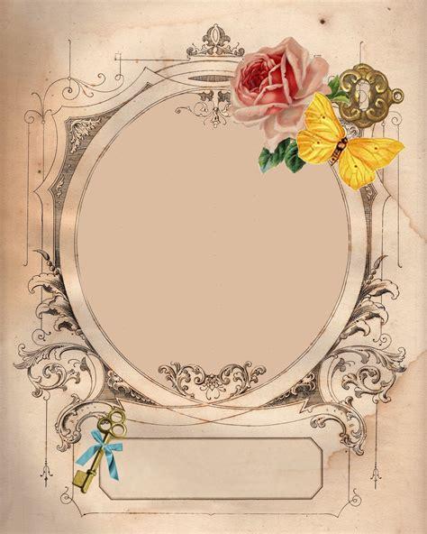 Frame Scrapbook free downloadable digital frame and background
