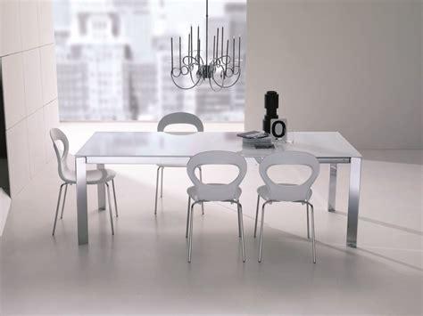 tavolo niko bontempi tavolo in acciaio e cristallo niko collezione tavoli by