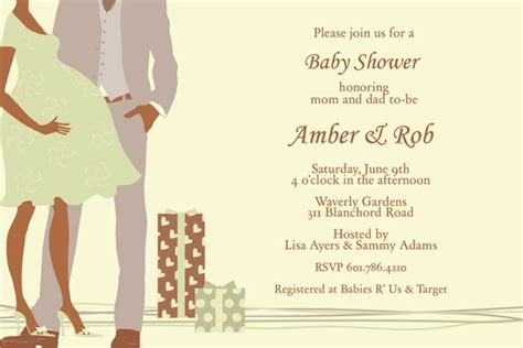 Couples Baby Shower Invitation Wording Exles by Cheap Couples Baby Shower Invitations Invitesbaby