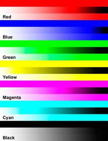 how to print in color color printer test page brown hairs