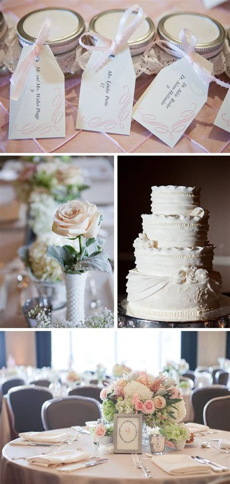 U Mocha Shabby shabby chic wedding at the fort worth club in