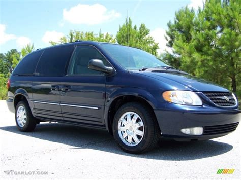 Chrysler Town And Country 2004 by Midnight Blue Pearlcoat 2004 Chrysler Town Country