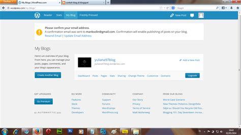 artikel cara membuat blog gratis cara membuat blog gratis full tutorial mengubah dan