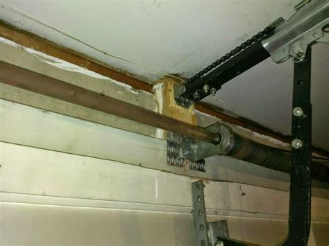 Diy Garage Door Springs by How Should I Repair This Garage Door Mount Diy