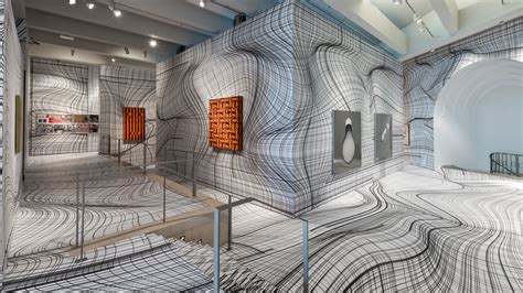 Drawing Center by Kogler Uses Optical Illusions To Transform Museums