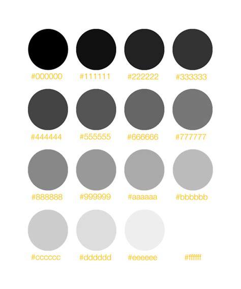 Light Gray Bedroom greyscale hex numbers website design and web development