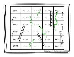 multiplication board games and ladder on pinterest