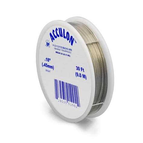 acculon tiger bead stringing wire 7 strand 018mm