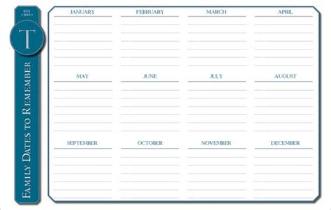 event calendar template 9 premium and free download for
