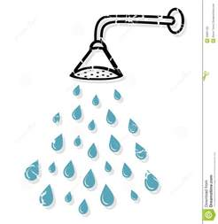 shower held shower vector royalty free stock photo image 33661755