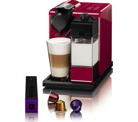 delonghi lattissima touch buy nespresso by de longhi lattissima touch en550 r coffee machine free delivery currys