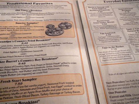Huddle House Nutrition Information by Cracker Barrel Menu Pictures To Pin On Pinsdaddy