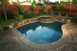 Backyard Pools Backyard Landscaping Ideas Around A Pool