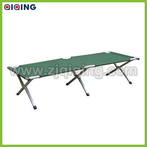 army cot bed portdable aluminum military bed army cot with 600d carrying bag hq 8001n buy portdable