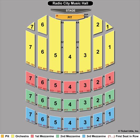 radio city seating plan radio city spectacular tickets 2018 rockettes