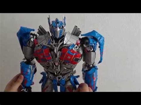 How To Make Optimus Prime Out Of Paper - age of extinction custom paper optimus prime