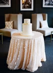 Wedding Table Cloths Sequin Tablecloth