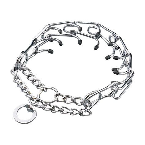 pinch collar prong collar rubber tips all sizes pinch chain choke guardian gear ebay