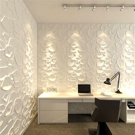 Peel And Stick Backsplash Tiles Textured Wall Art 3d Wall Panels Primitive White Set Of