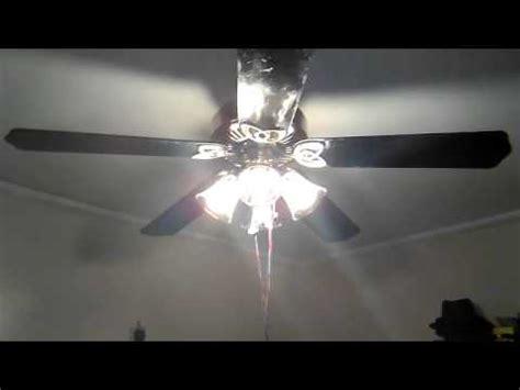 huntington bay ceiling fans hton bay huntington iii ceiling fan with black blades