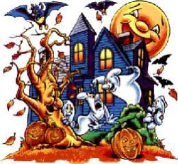 imagenes para halloween animadas gifs animados de casas de halloween