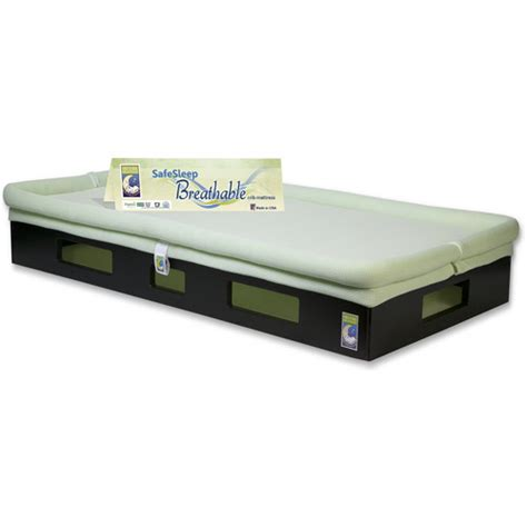 Breathable Crib Mattress Safesleep Breathable Crib Mattress Espresso Base