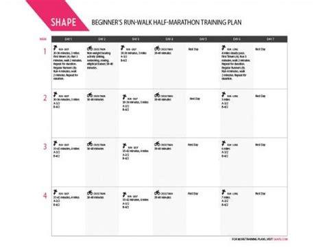 couch to marathon training schedule half marathon training schedule for first timers