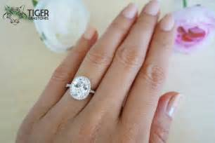 Tiffany Chandeliers For Sale 3 25 Carat Oval Halo Engagement Ring Vintage D Color