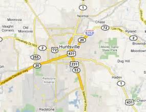 us map huntsville alabama huntsville metro area web design development firms on