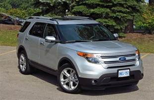 Ford Explorer 2015 Limited Suv Review 2015 Ford Explorer Limited Driving