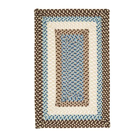 8 ft braided rugs home decorators collection blithe brown 5 ft x 8 ft braided area rug mg89r060x096r the home