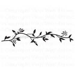 leafy border vinyl wall decal disney frozen wallpaper borders and wall stickers wall