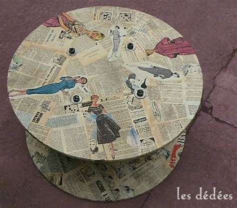 Bobine De Chantier Table Basse by Les Dedees Vintage Recup Creations Table Bobine De