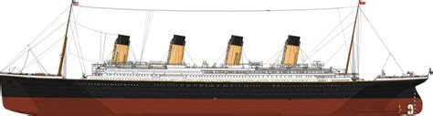 Sinking Of Rms Titanic by Titanic Port Side By Acenos On Deviantart