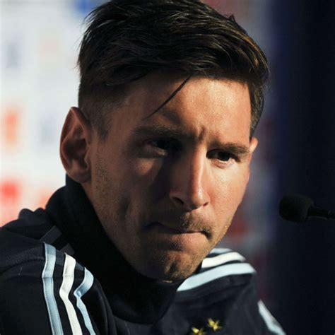 argentina hairstyle lionel messi haircut