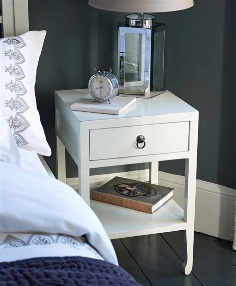 Small White Bedside Table Small White Bedside Table Ls Brokeasshome