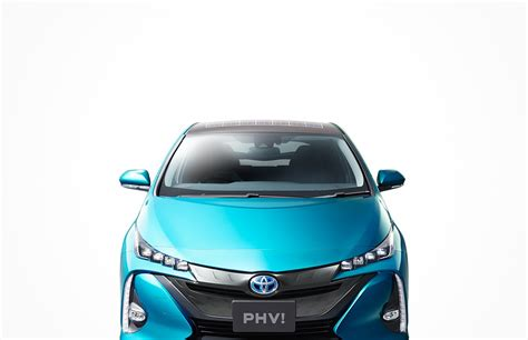 Toyota Solar Roof 2016 Toyota Prius Phv With Solar Roof Option Japan Model