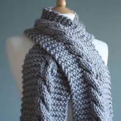 free chunky scarf knitting patterns uk knitting patterns galore chunky cable scarf