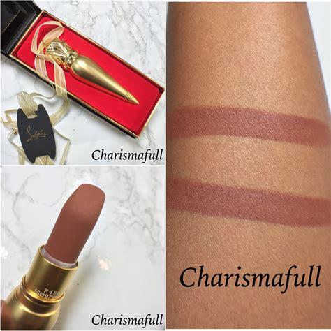 Christian Louboutin Velvet Matte Lip Colour Shade Rococotte sneak peek christian louboutin zoulou velvet matte lip