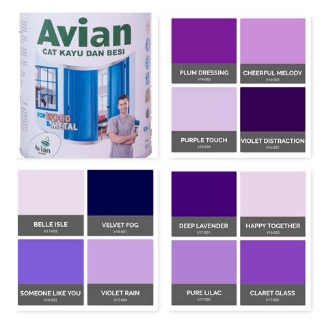 cat tembok dapur warna ungu  bagus rumah central