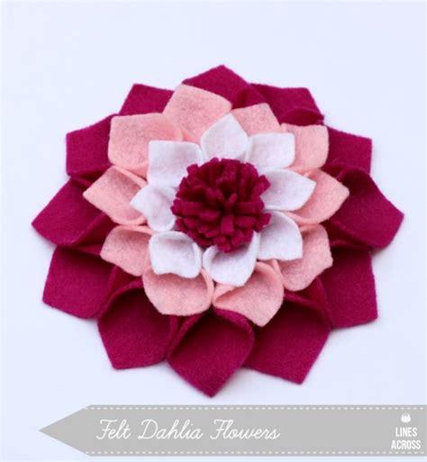 pattern for making felt flowers 17 diy fabric flowers to make tip junkie