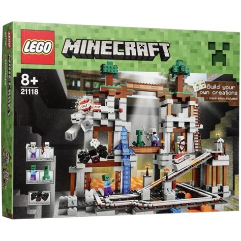 Lego 21118 Minecraft The Mine lego minecraft 21118 the mine lego photopoint