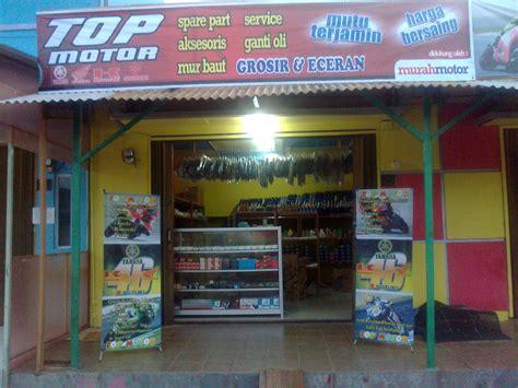 layout toko aksesoris motor usaha bengkel motor toko spare part aksesoris atau sales